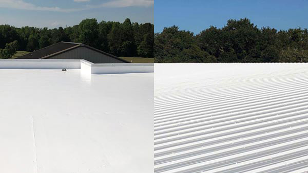 Flat Roof Coatings Systems