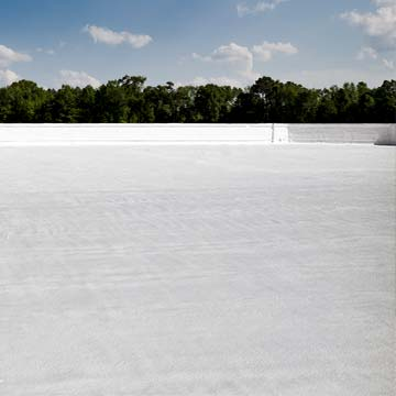 Spray foam roof